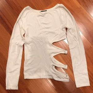 Sisley white shirt